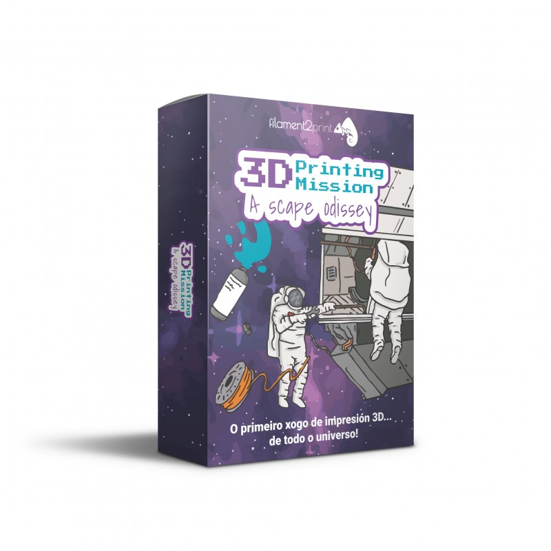 3D Printing Mission · A Scape Odissey